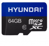 MEMORIA MICRO SD 64GB HYUNDAI SDHC CL10 U1 RETAIL 0810033030727