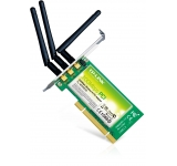 PLACA DE RED TP-LINK 300MBPS WN951N INALAMBRICO 3 ANTENAS