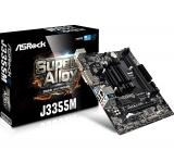 MOTHER ASROCK J3355M + CPU INTEL DUAL CORE J3355 2.5GHZ DDR3 VGA HDMI
