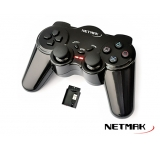 GAMEPAD NETMAK NM-507 INALAMBRICO P/PC/PS2/PS3