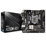MOTHER ASROCK 1151 H310M-HDV 3.0 HDMI/VGA S+R