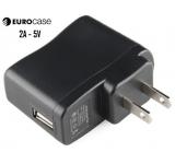 CARGADOR P/ TABLET - CELULAR 2AMP/5V USB FJ-SW1260502000UA EUROCASE