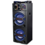 MULTI REPRODUCTOR DE AUDIO POTENCIADO BT/ USB / AUX / 140W KAZZ TOWER DJ
