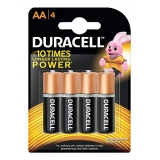 PILAS ALCALINAS DURACELL AA BLISTER X4 UNI