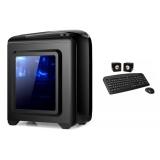GABINETE KIT CIRKUIT PLANET GAMING CHASE NO DVD CKP-GC1010+TEC+PAR+MO+F500W SOLO EN PC