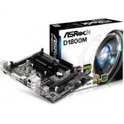 MOTHER ASROCK D1800M + CPU INTEL DUAL CORE J1800 2.5GHZ DDR3 VGA HDMI