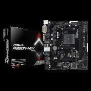 MOTHER ASROCK A320M-HDV3 R3.0 AM4 DDR4 VGA/HDMI/DVI/COM/LPT 90MXB970A0UAYZ