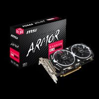 VGA MSI RADEON RX570 ARMOR MK2 OC 8GB DDR5 256-BITS PCI-E DVI-DP-HDMI 912-V341-252