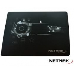 PAD PARA MOUSE NETMAK NM-PAD-GEL BLACK / BLUE / RED DESING