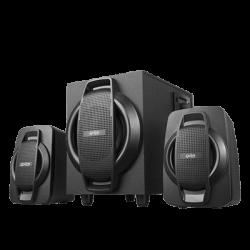 PARLANTES 2.1 OVERTECH OV-114A LECT USB + RADIO