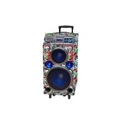 MULTI REPRODUCTOR DE AUDIO BLUETOOTH FM / USB / AUX / SD 100W STROMBERG CARLSON SC-FEST-F2