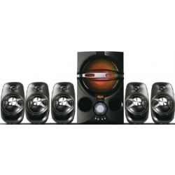 HOME THEATER 5.1 45W RMS C/ FM / USB / SD / LED DE COLORES STROMBERG CARLSON HTG902