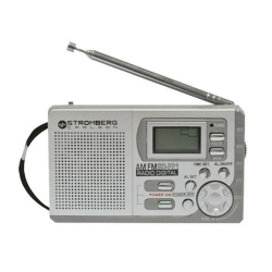 RADIO PORTATIL DIGITAL AM/FM STROMBERG CARLSON RD-P-21