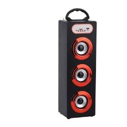 PARLANTE BLUETOOTH ALIVER ALIV-06-1 3X5W FM/USB/SD/AUX TOWER 1 MADERA